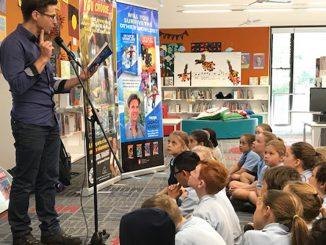 Stanmore Public School George Ivanoff Author talk
