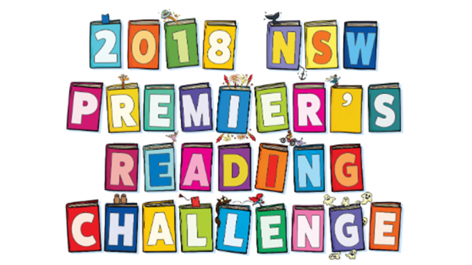 Premier's Reading Challenge 2018