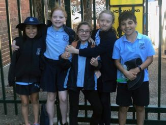 Stanmore Public School Year 5 Debating Team 2019 at Marrickville PS