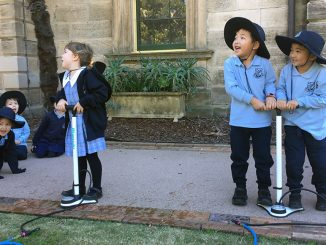 Stanmore Public School Kindy Students at an Excursion to the Sydney Observatory 2019