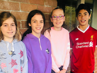 Stanmore Public School Year 6 Debating Team 2019