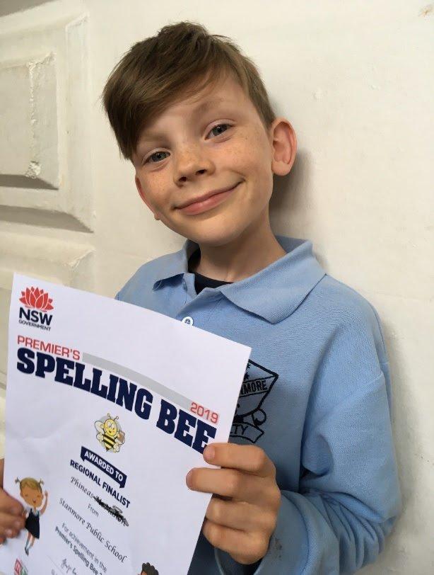 Premier's Spelling Bee