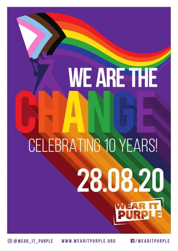 Stanmore Public School Wear It Purple Day Poster