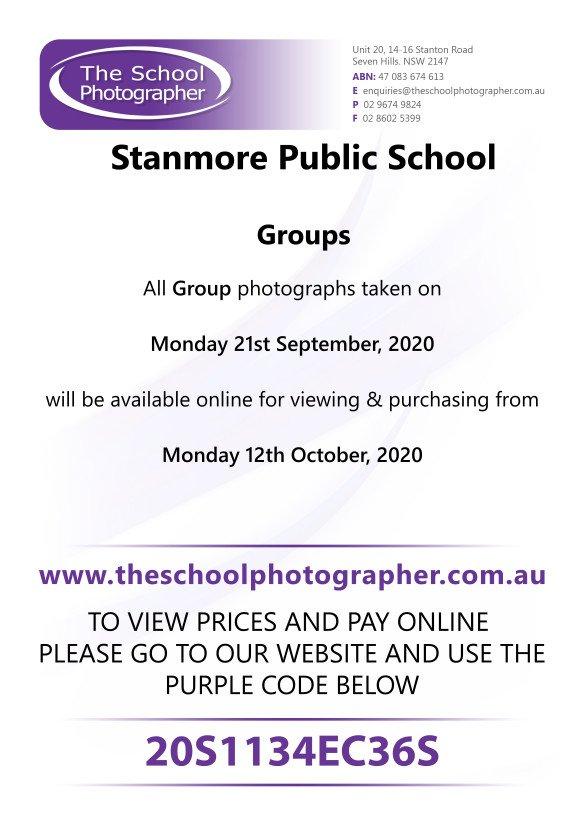 Stanmore Public School Group Photos 2020