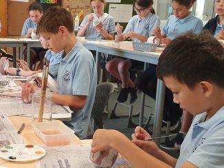 stanmore public school Aboriginal Totem Pole Art 2020 banner