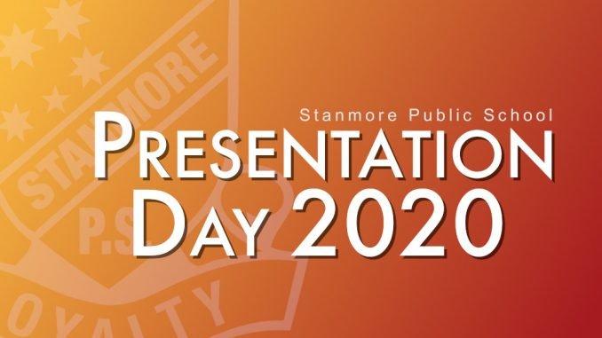 stanmore public school presentation day 2020