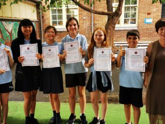 stanmore public school y6 chinese awards 2020